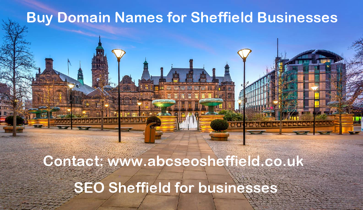 Buy Domain Names In Sheffield