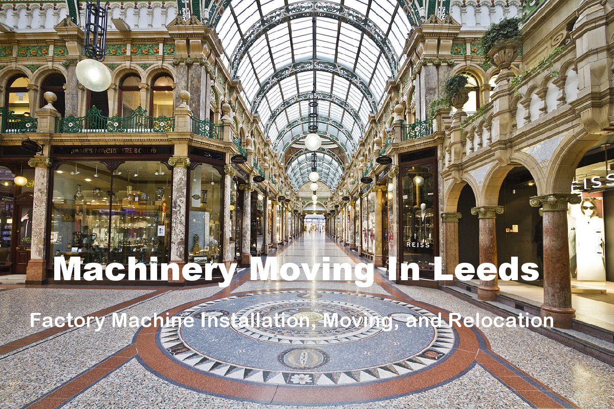 Machinery Moving in Leeds